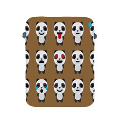 Panda Emoticon Apple Ipad 2/3/4 Protective Soft Cases