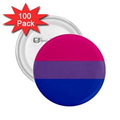Pink Purple Blue Flag 2 25  Buttons (100 Pack)  by AnjaniArt