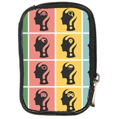 Question Face Think Compact Camera Cases