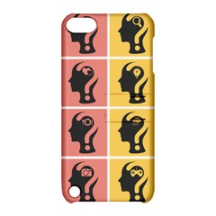 Question Face Think Apple Ipod Touch 5 Hardshell Case With Stand