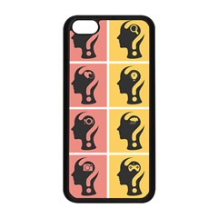 Question Face Think Apple Iphone 5c Seamless Case (black)