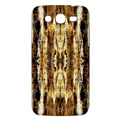 Beige Brown Back Wood Design Samsung Galaxy Mega 5 8 I9152 Hardshell Case