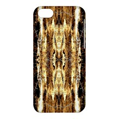 Beige Brown Back Wood Design Apple Iphone 5c Hardshell Case by Costasonlineshop