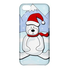 Polar Bear Apple Iphone 5c Hardshell Case by Valentinaart