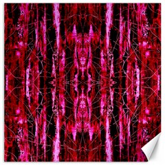 Pink Burgundy Traditional Pattern Canvas 16  X 16