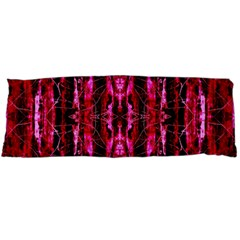 Pink Burgundy Traditional Pattern Body Pillow Case Dakimakura (two Sides)