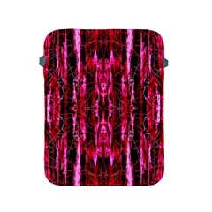 Pink Burgundy Traditional Pattern Apple Ipad 2/3/4 Protective Soft Cases by Costasonlineshop