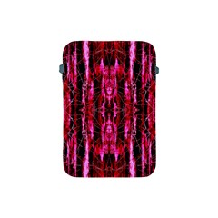 Pink Burgundy Traditional Pattern Apple Ipad Mini Protective Soft Cases by Costasonlineshop
