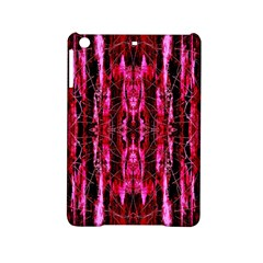 Pink Burgundy Traditional Pattern Ipad Mini 2 Hardshell Cases by Costasonlineshop