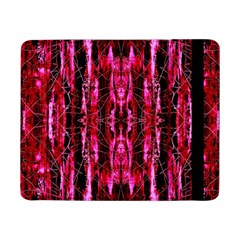 Pink Burgundy Traditional Pattern Samsung Galaxy Tab Pro 8 4  Flip Case