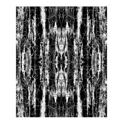 Black White Taditional Pattern  Shower Curtain 60  X 72  (medium)