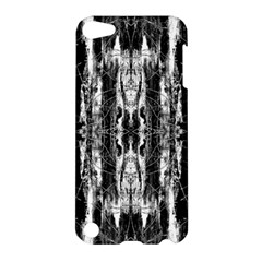 Black White Taditional Pattern  Apple Ipod Touch 5 Hardshell Case by Costasonlineshop