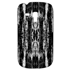 Black White Taditional Pattern  Galaxy S3 Mini by Costasonlineshop