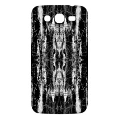 Black White Taditional Pattern  Samsung Galaxy Mega 5 8 I9152 Hardshell Case  by Costasonlineshop