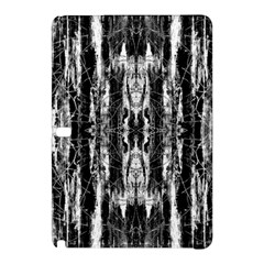 Black White Taditional Pattern  Samsung Galaxy Tab Pro 12 2 Hardshell Case by Costasonlineshop