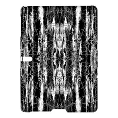 Black White Taditional Pattern  Samsung Galaxy Tab S (10 5 ) Hardshell Case  by Costasonlineshop