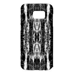 Black White Taditional Pattern  Samsung Galaxy S7 Edge Hardshell Case