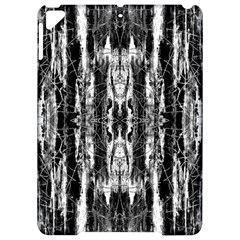 Black White Taditional Pattern  Apple Ipad Pro 9 7   Hardshell Case by Costasonlineshop