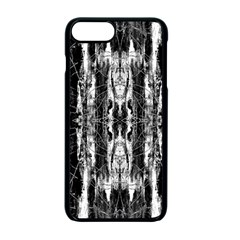 Black White Taditional Pattern  Apple Iphone 7 Plus Seamless Case (black) by Costasonlineshop
