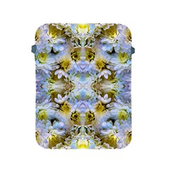Blue Yellow Flower Girly Pattern, Apple Ipad 2/3/4 Protective Soft Cases