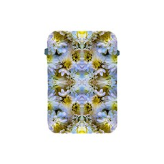 Blue Yellow Flower Girly Pattern, Apple Ipad Mini Protective Soft Cases by Costasonlineshop