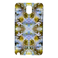 Blue Yellow Flower Girly Pattern, Samsung Galaxy Note 3 N9005 Hardshell Case