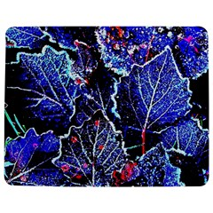 Blue Leaves In Morning Dew Jigsaw Puzzle Photo Stand (rectangular) by Costasonlineshop
