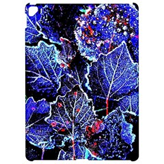 Blue Leaves In Morning Dew Apple Ipad Pro 12 9   Hardshell Case by Costasonlineshop