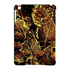Leaves In Morning Dew,yellow Brown,red, Apple Ipad Mini Hardshell Case (compatible With Smart Cover) by Costasonlineshop