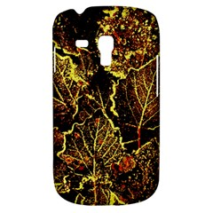 Leaves In Morning Dew,yellow Brown,red, Galaxy S3 Mini by Costasonlineshop