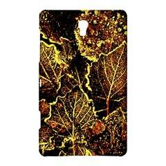 Leaves In Morning Dew,yellow Brown,red, Samsung Galaxy Tab S (8 4 ) Hardshell Case  by Costasonlineshop
