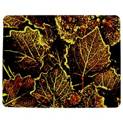 Leaves In Morning Dew,yellow Brown,red, Jigsaw Puzzle Photo Stand (rectangular) by Costasonlineshop