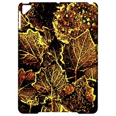 Leaves In Morning Dew,yellow Brown,red, Apple Ipad Pro 9 7   Hardshell Case by Costasonlineshop