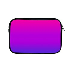 Pink Purple Blue Apple Ipad Mini Zipper Cases