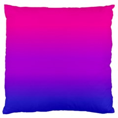 Pink Purple Blue Standard Flano Cushion Case (one Side)
