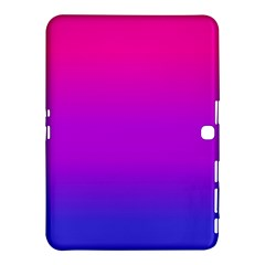 Pink Purple Blue Samsung Galaxy Tab 4 (10 1 ) Hardshell Case  by AnjaniArt