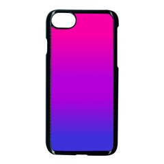 Pink Purple Blue Apple Iphone 7 Seamless Case (black) by AnjaniArt