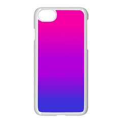 Pink Purple Blue Apple Iphone 7 Seamless Case (white)