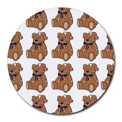 Bear Round Mousepads