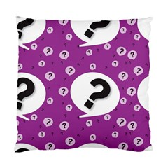 Question Mark Sign Standard Cushion Case (two Sides)