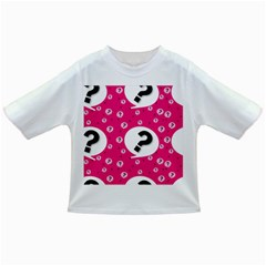 Question Mark Red Sign Infant/toddler T Shirts