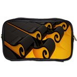Tsunami Roll Sea Wave Toiletries Bags 2-Side Front