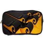 Tsunami Roll Sea Wave Toiletries Bags 2-Side Back