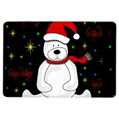 Polar Bear   Xmas Design Ipad Air 2 Flip by Valentinaart