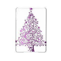 Elegant Starry Christmas Pink Metallic Look Ipad Mini 2 Hardshell Cases by yoursparklingshop
