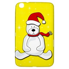 Polar Bear   Yellow Samsung Galaxy Tab 3 (8 ) T3100 Hardshell Case  by Valentinaart