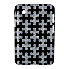 Puzzle1 Black Marble & Gray Marble Samsung Galaxy Tab 2 (7 ) P3100 Hardshell Case  by trendistuff