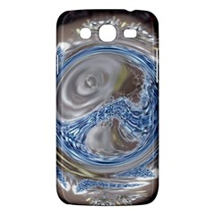 Silver Gray Blue Geometric Art Circle Samsung Galaxy Mega 5 8 I9152 Hardshell Case  by yoursparklingshop