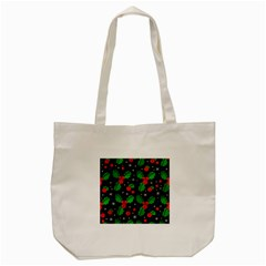 Xmas Magical Pattern Tote Bag (cream) by Valentinaart