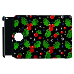 Xmas Magical Pattern Apple Ipad 3/4 Flip 360 Case by Valentinaart